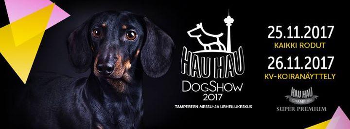 Hau-Hau Dog Show 2017 – Tampere KR   Tammermaan mäyräkoirakerho ry